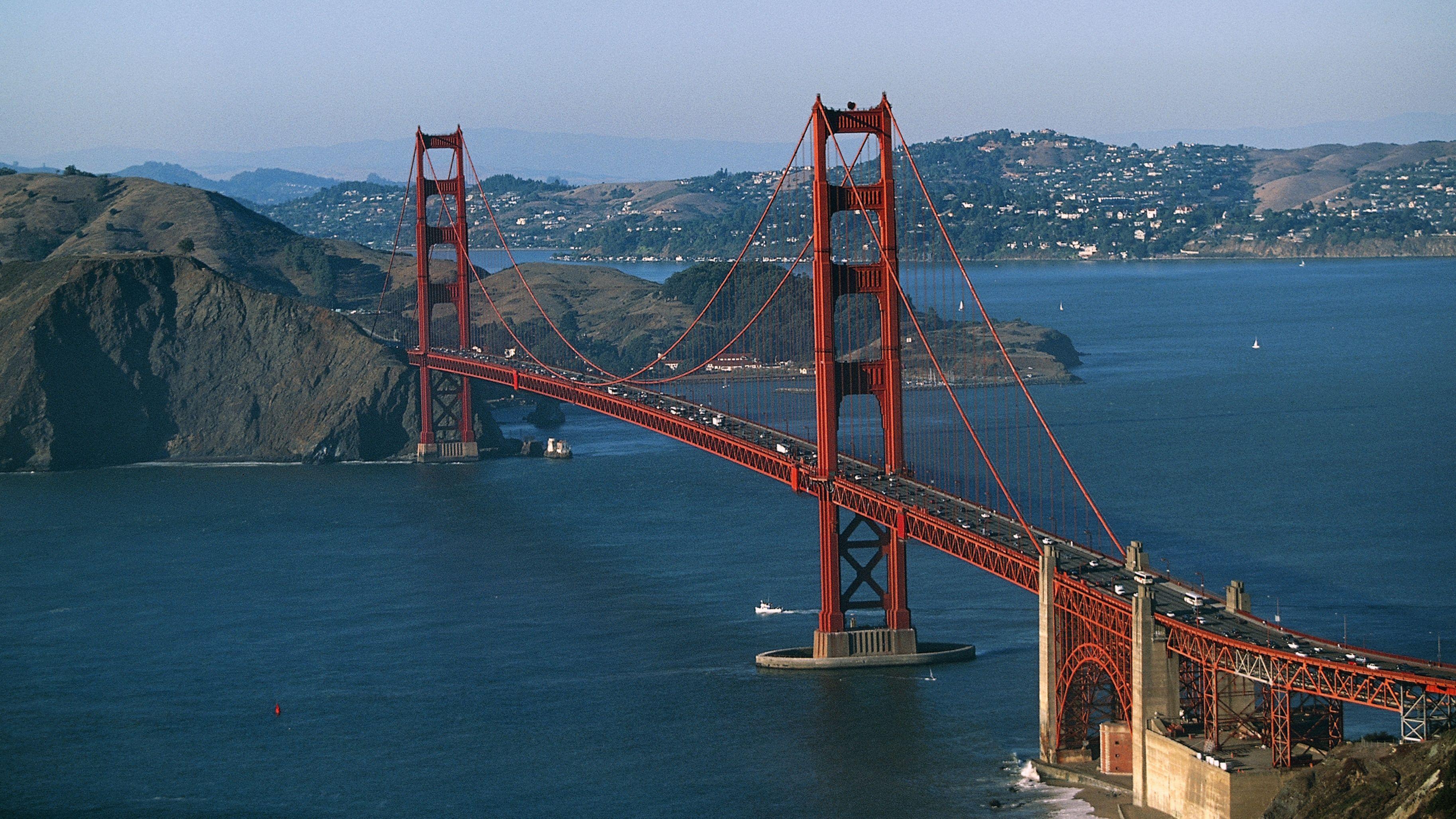 Daly city california san francisco golden gate bridge