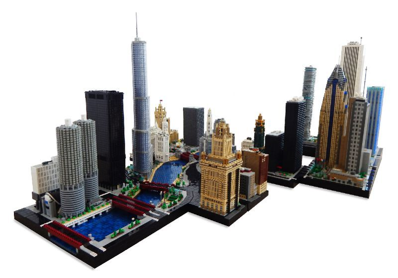 MicroBricks: City of the micro shoulders