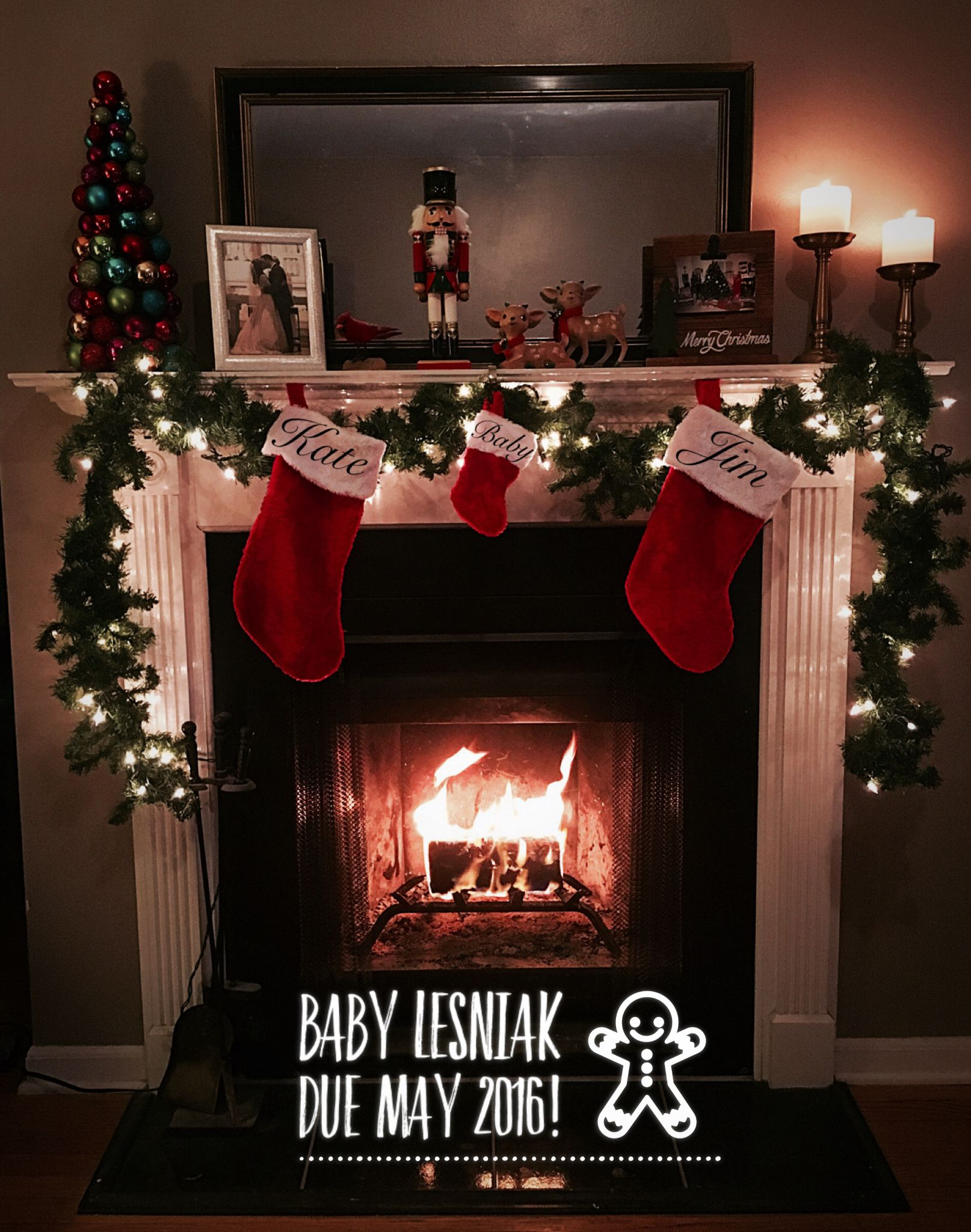 Fun and Creative Mothers Day Pregnancy Announcements – Christmas Baby Pregnancy Announcement
