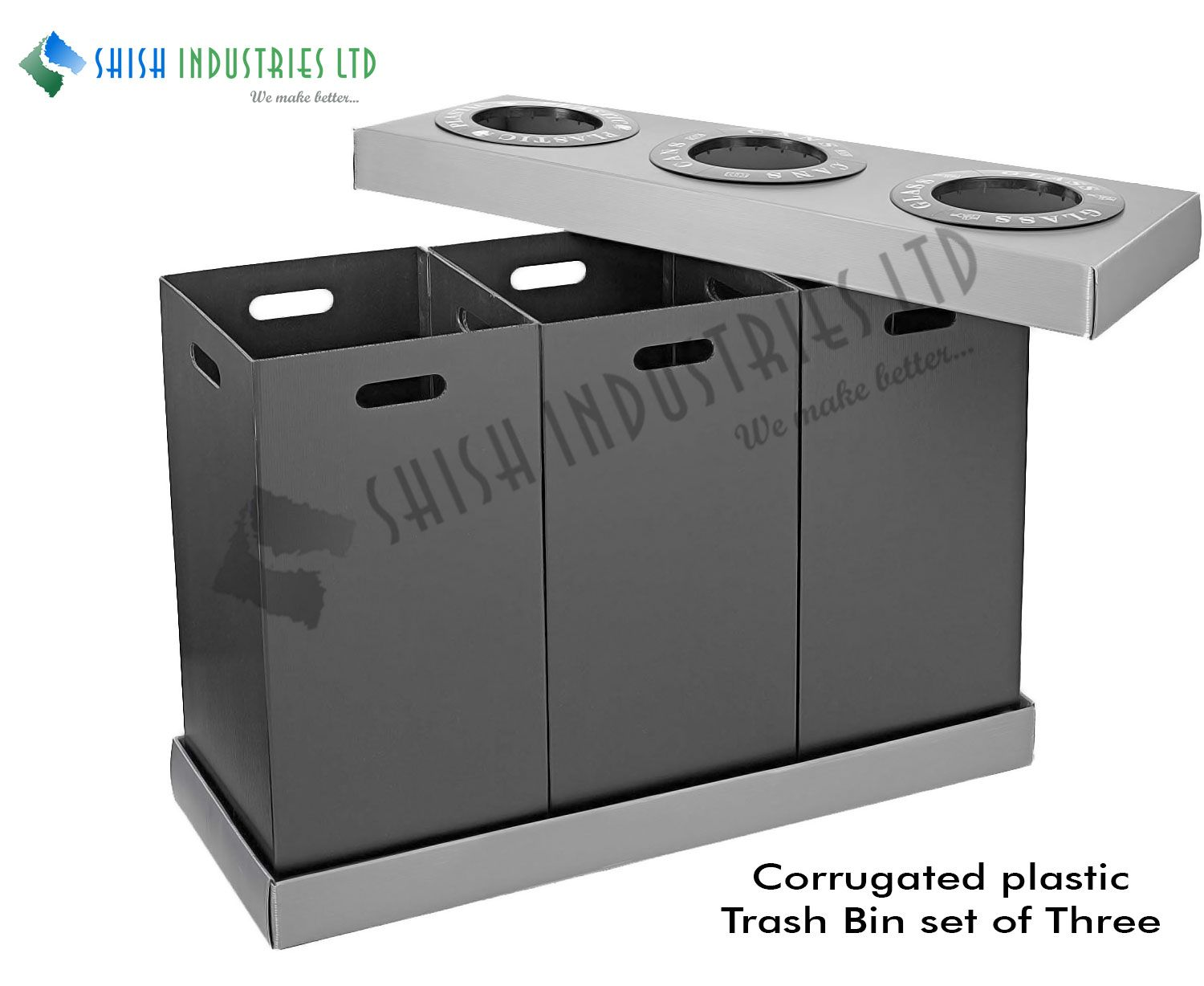 Hollow Profile Sheet Can Be Used To Manufacture Polypropylene Low Cost Container Designed For Separate Waste Ma Locker Storage Manufacturing Corrugated Sheets