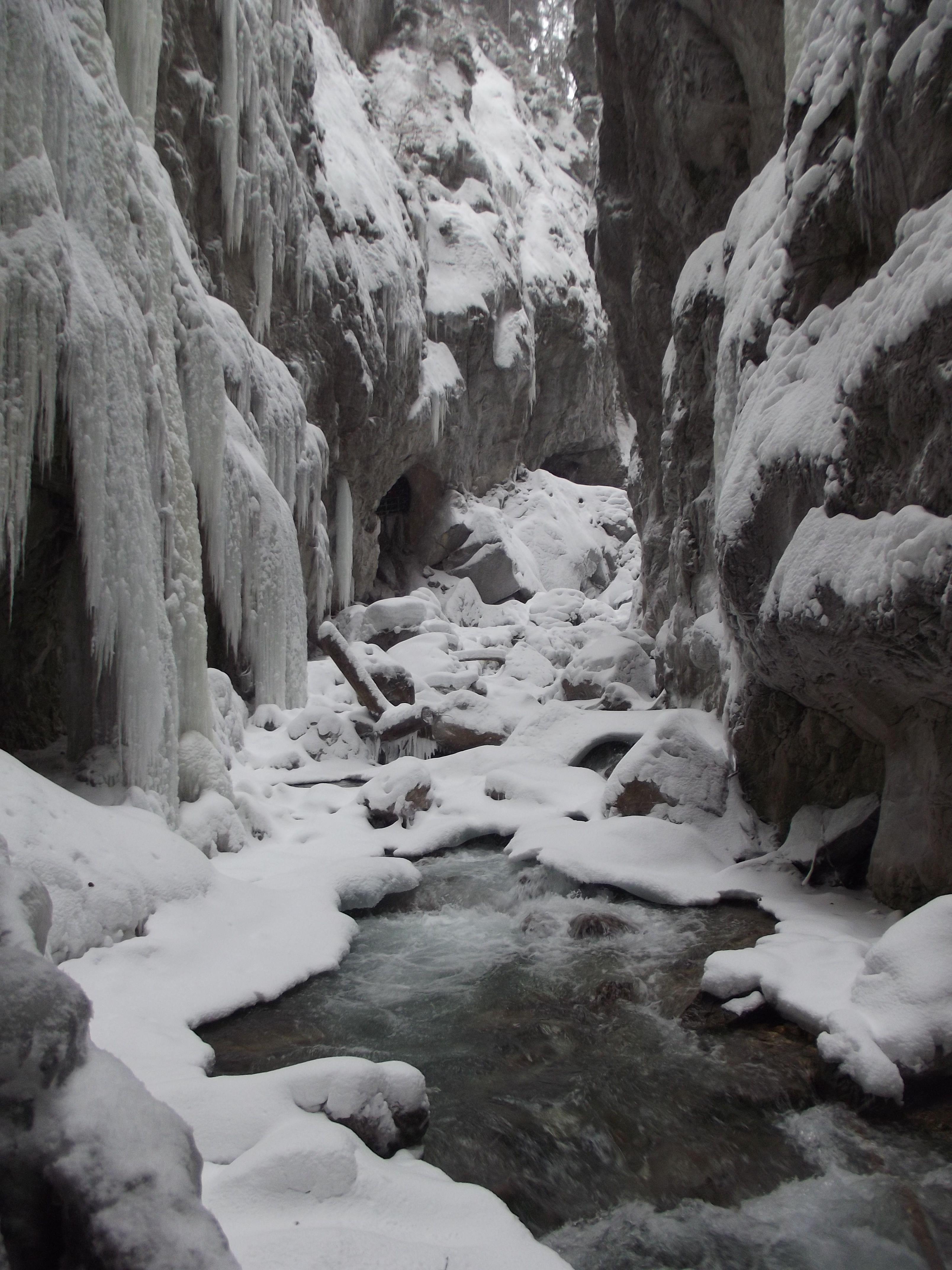 Partnach Gorge in Garmisch-Partenkirchen Germany