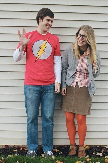 DIY Big Bang Theory Sheldon and Amy Costume | maskerix.com  sc 1 st  Pinterest : amy halloween costume  - Germanpascual.Com