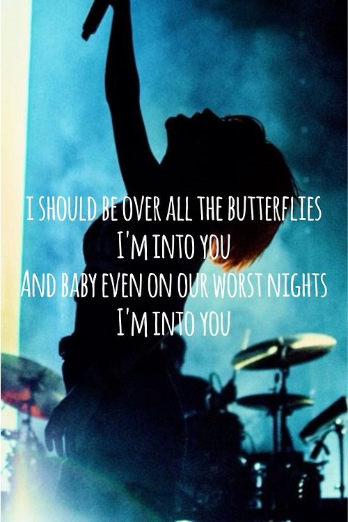 Paramore lyrics | Still Into You