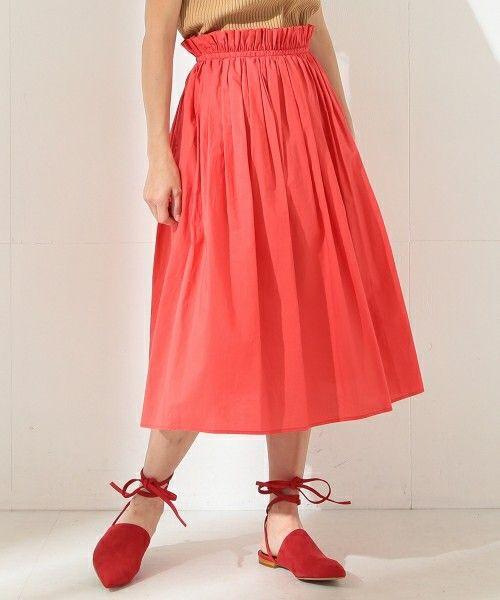 【ZOZOTOWN 送料無料】Demi-Luxe BEAMS(デミルクス ビームス)のスカート「Demi-Luxe BEAMS / コットンギャザースカート」(68-27-0307-002)を購入できます。