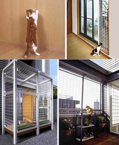 unbelievable cat friendly house design from japan hauspanther - Cat Room Design Ideas