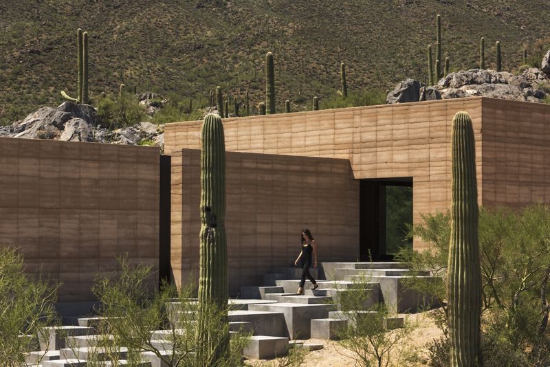 tucson mountain retreat by DUST architects. tucson, arizona, usa