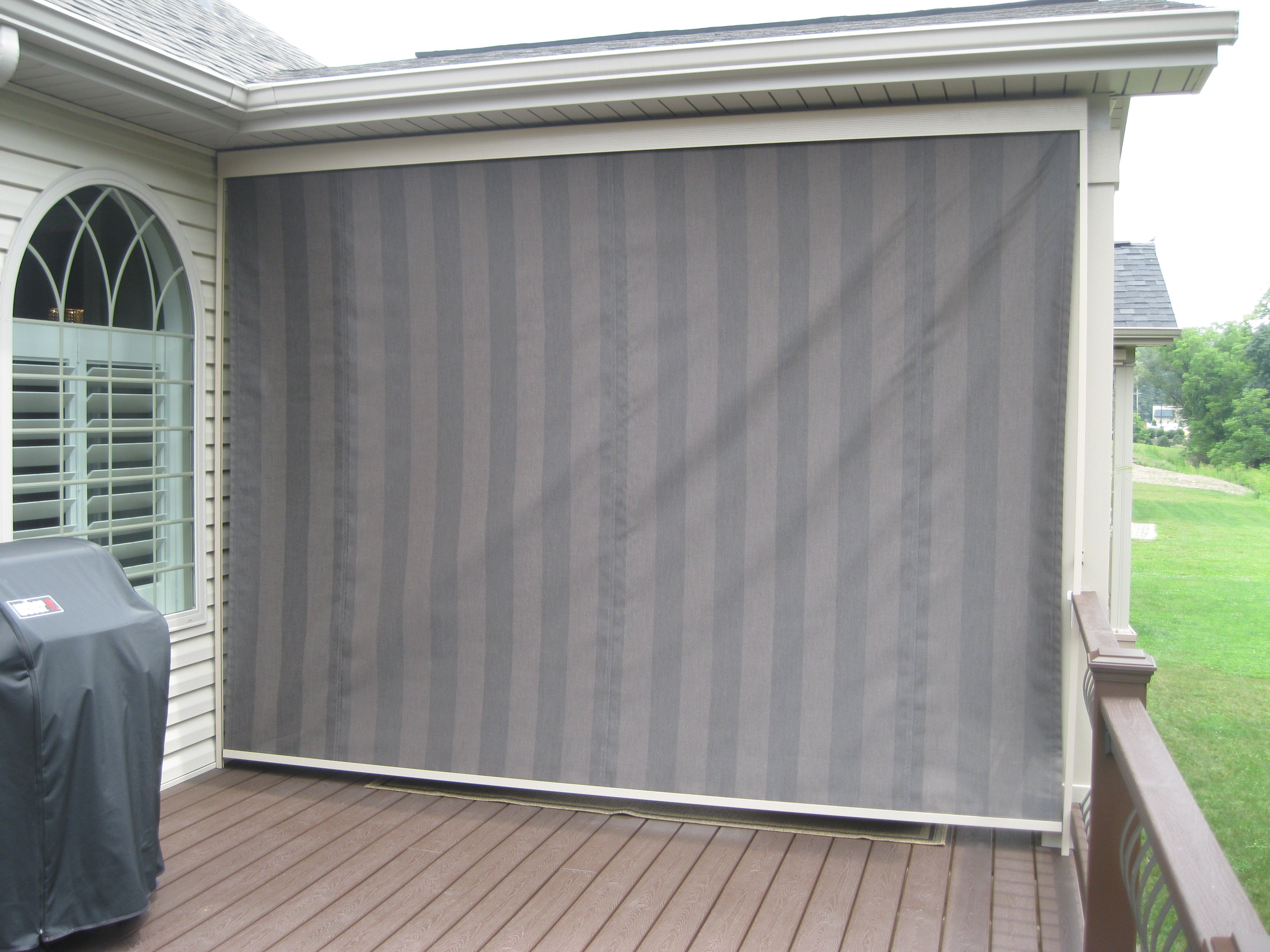 Here is an after picture of a Mastershade by Sunair