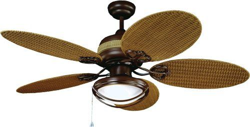 Yosemite Home Decor Tropical Breeze 48 Inch Ceiling Fan