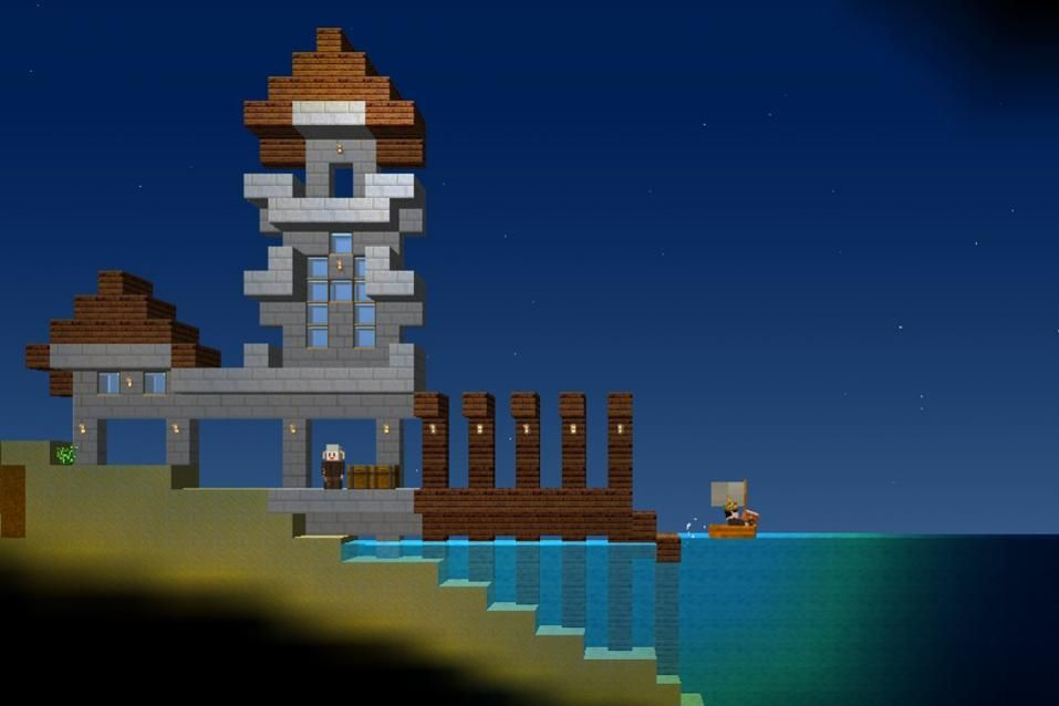 Dock in blockheads the pagoda styling is charming the frivolous dock in blockheads the pagoda styling is charming the frivolous use of castle towers gumiabroncs Gallery