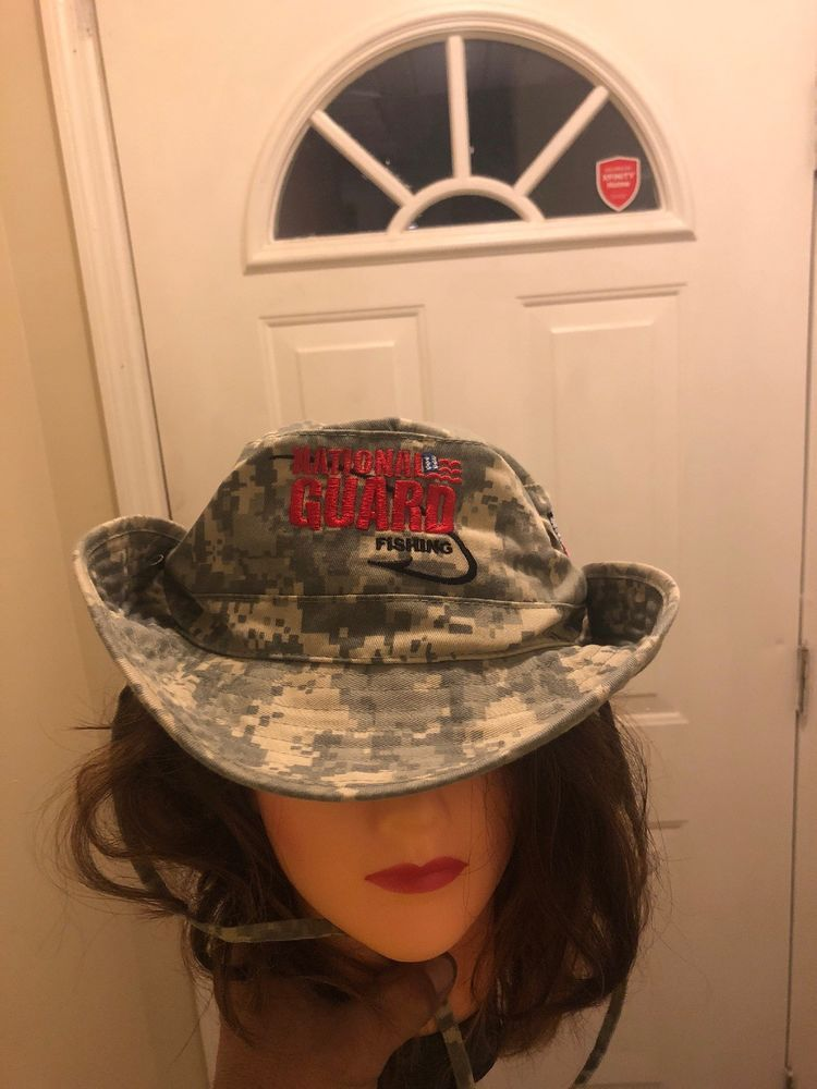 378d634b National Guard Camouflage Hat Bucket Fishing Camo Hunting Sun #fashion  #clothing #shoes #accessories #mensaccessories #hats (ebay link)