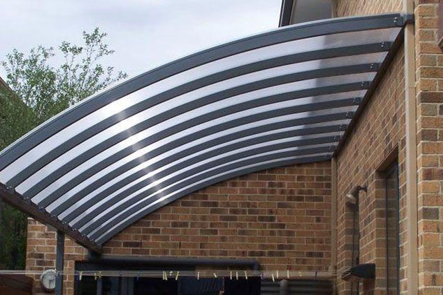 Stylish Curved Design Curved Patio Patio Lighting Patio Design