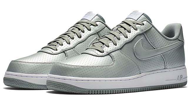 air force 1 07 lv8 metallic silver