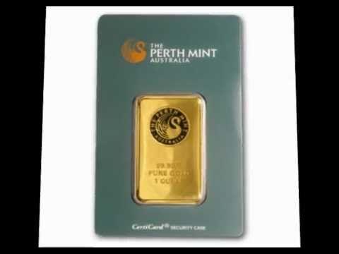 Perth Mint Kangaroo Gold Bars Mint Gold Gold Bullion Bullion