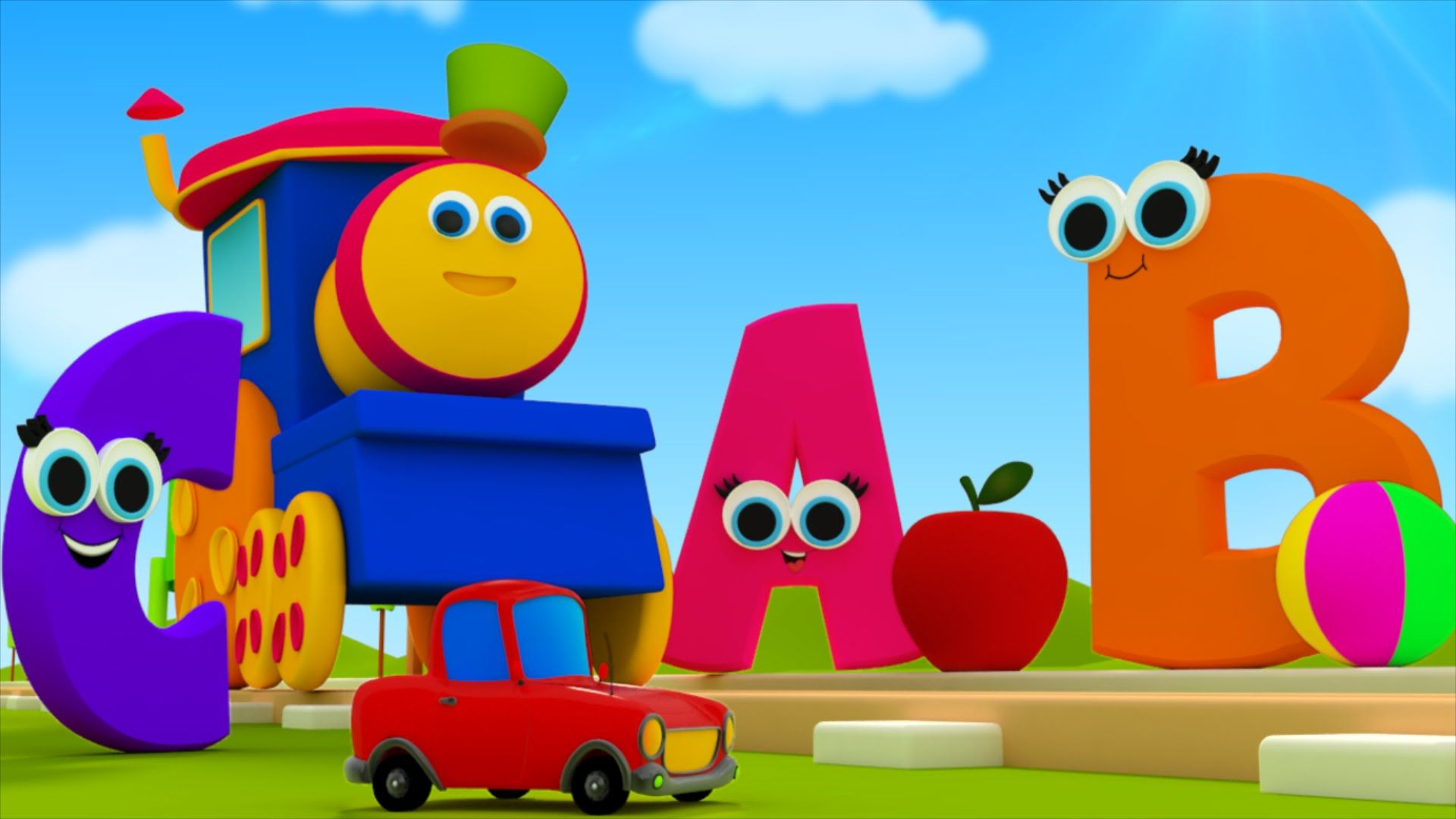 Lets recite the phonics song with bob the train alphabet pre
