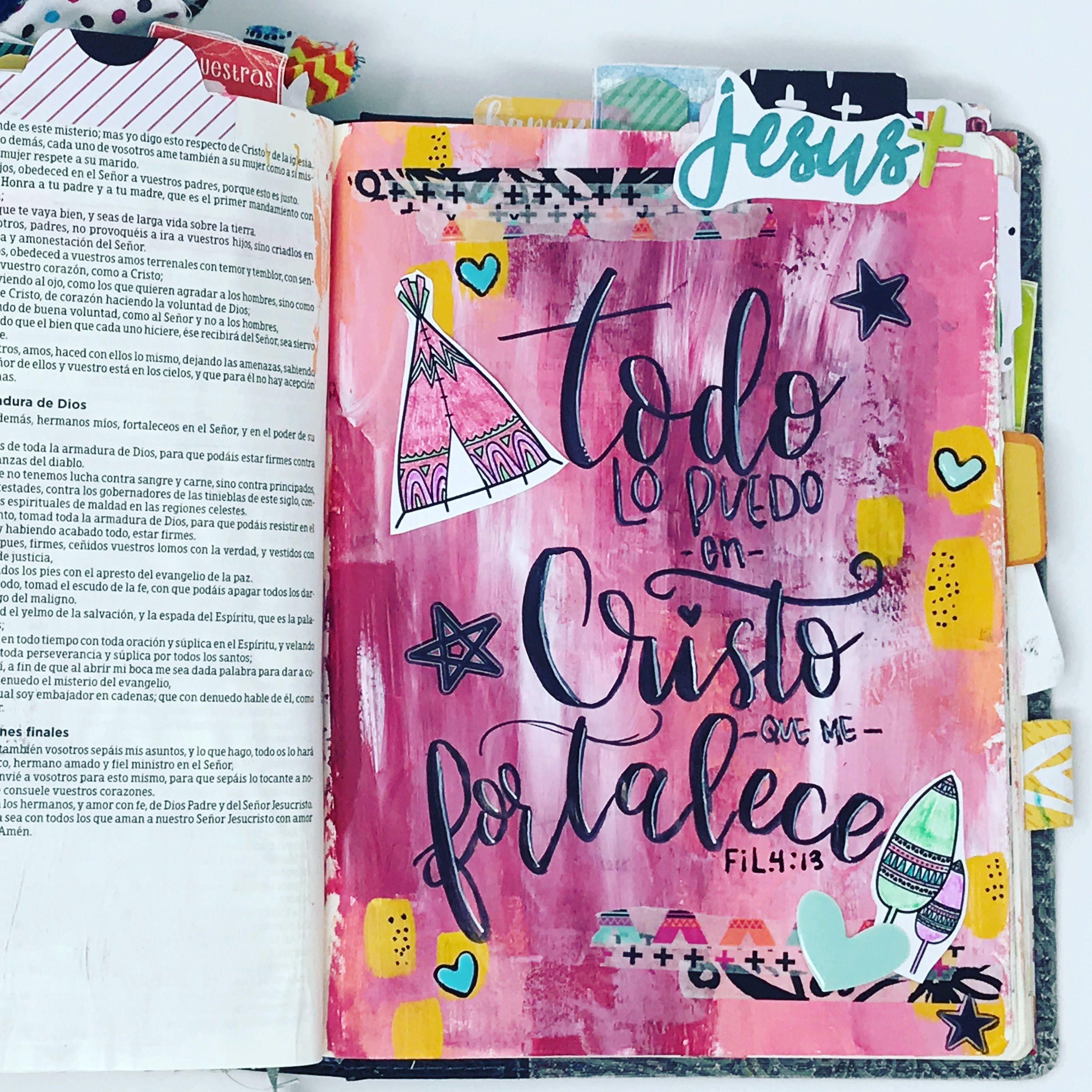 Pin En Bible Journaling