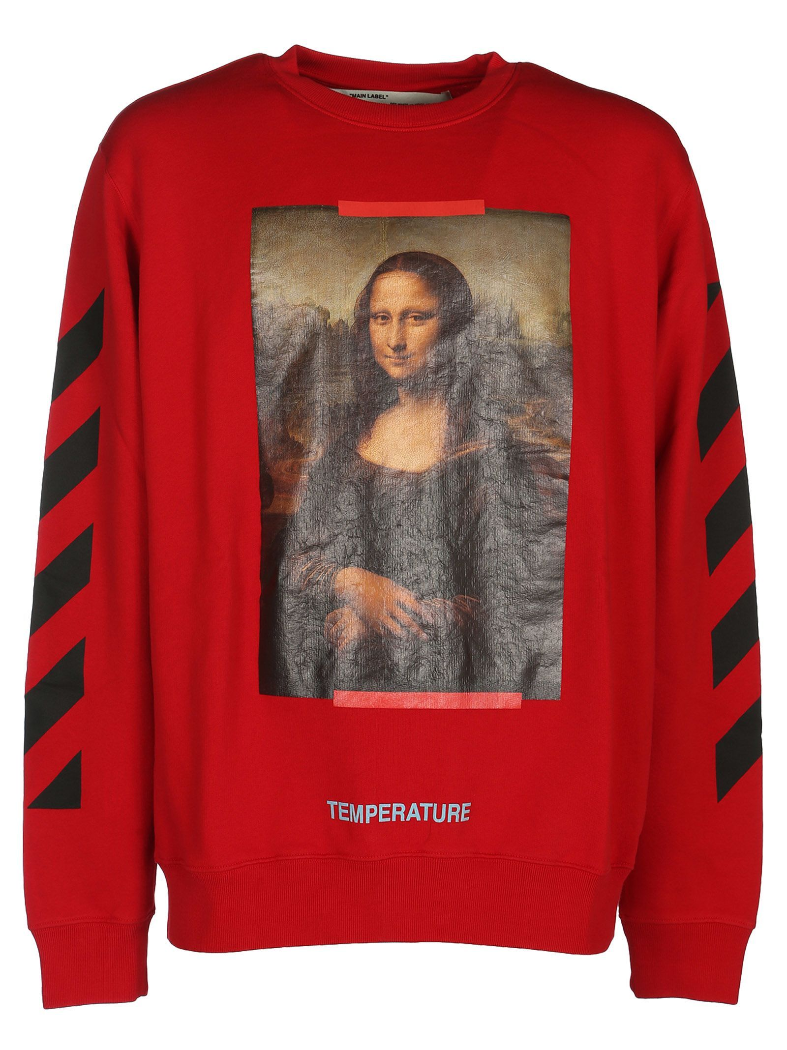2a51d3eb571 OFF-WHITE OFF-WHITE MONA LISA PRINT SWEATSHIRT.  off-white  cloth ...