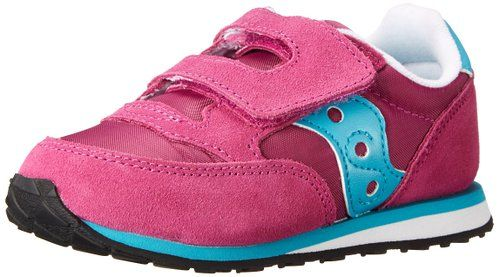 52be09c2 Saucony Jazz Hook and Loop Sneaker (Toddler/Little Kid),Magenta/Blue ...