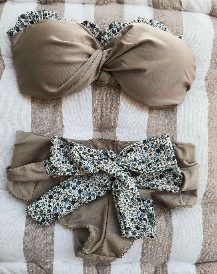 019ba19276c beige gold/black bikini | Madame shou shou, Greece | μαγιό