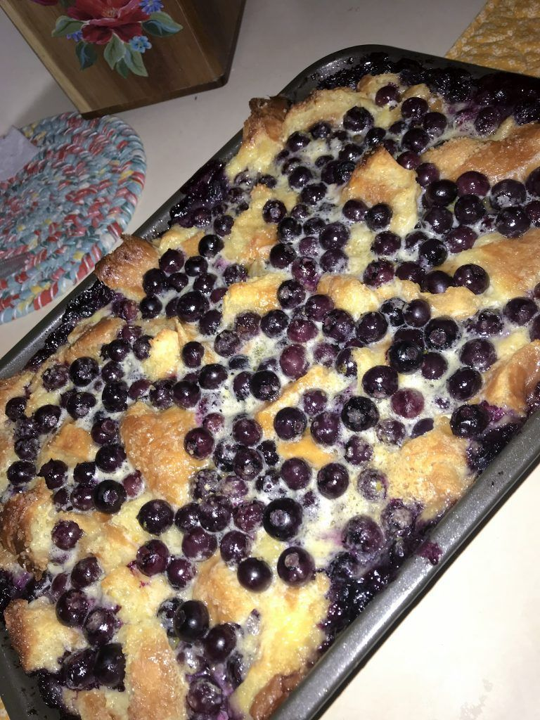 Joanna Gaines' Buttermilk Blueberry Puff Grace Elaine