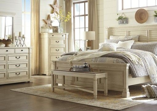 Best Bolanburg Bedroom Set With Images Bedroom Furniture Sets White Paneling White Panel Beds 400 x 300