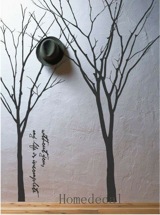 Interior Removable Vinyl Wall Decal Graphic Wall by Homedecal