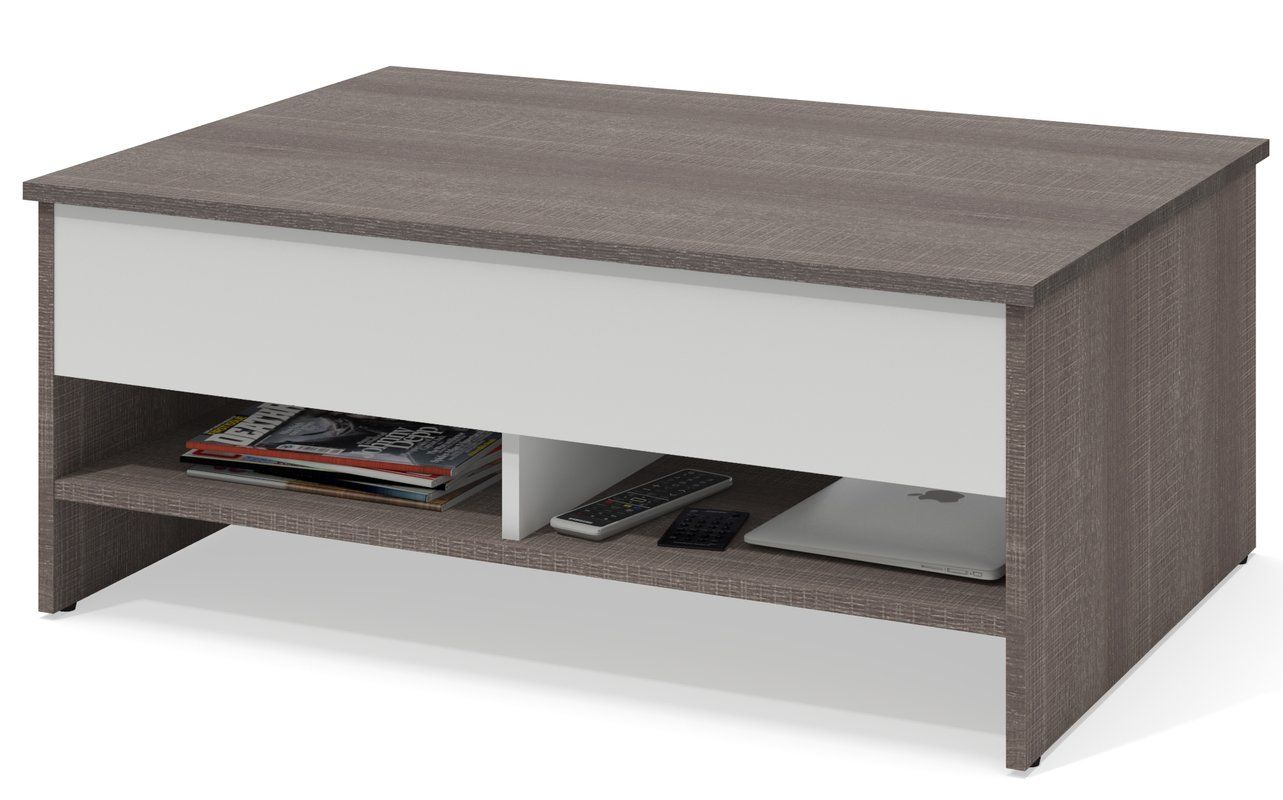 Latitude Run Frederick Storage Coffee Table With Lift Top U0026 Reviews |  Wayfair