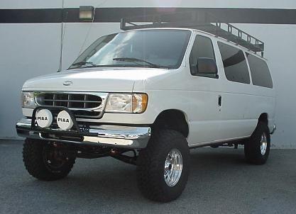 Prerunner E150 4x4 Van Ford Van Lifted Van