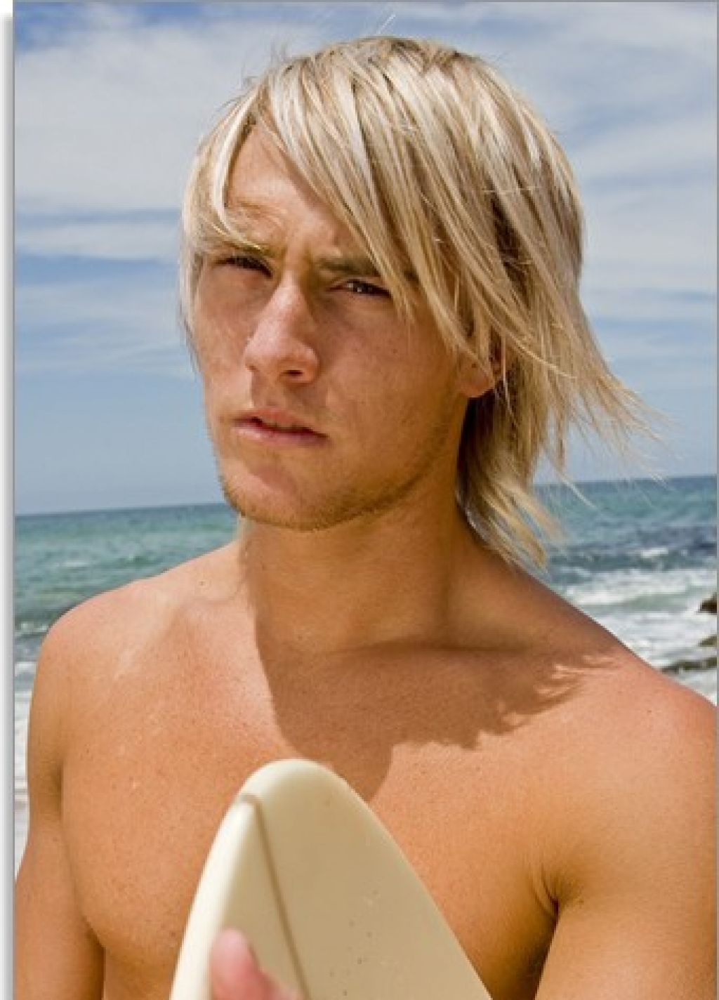 Blonde Surfer Hair Style Inspiration For Men Surfer Hair