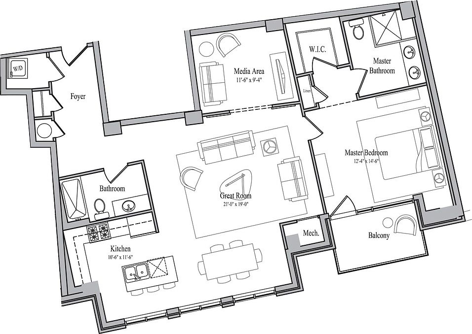The Avenue District Apartment Rentals Cleveland Oh Zillow Rental Apartments Zillow Apartment