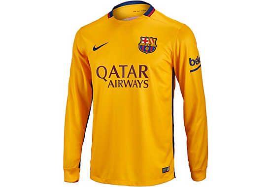 BNWT genuine FC Barcelona women away jersey 15-16