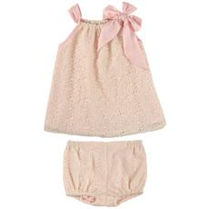 Billieblush - Lace sundress and bloomers, cotton lining - Pastel pink - 102823