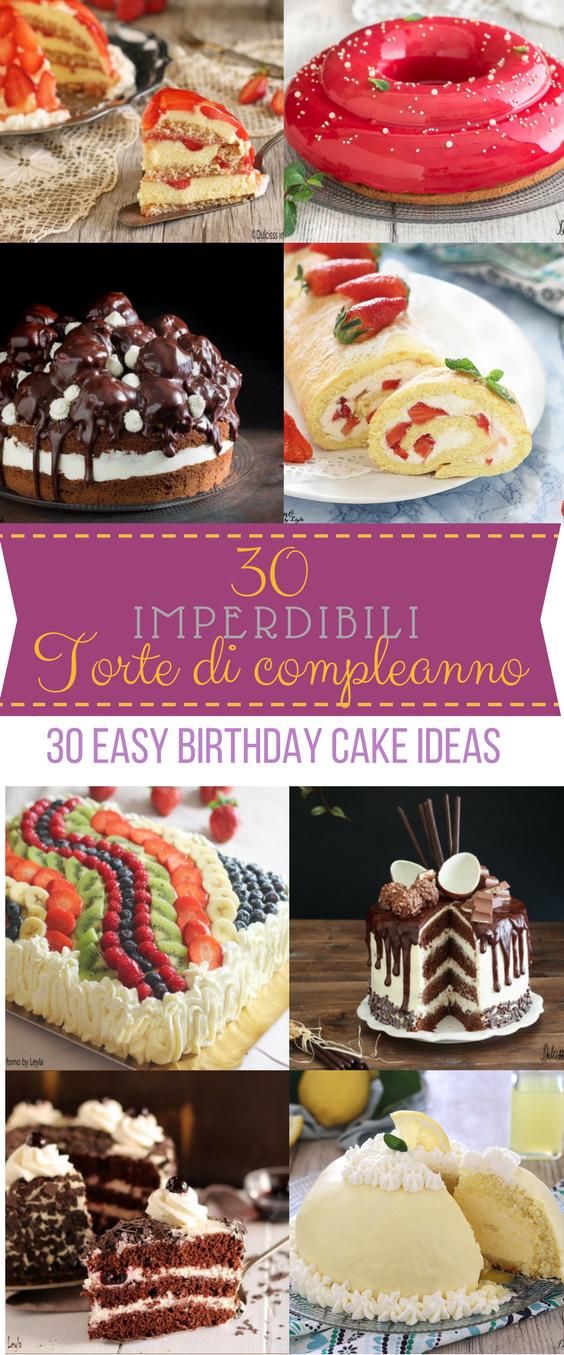 Ricette Torte Di Compleanno