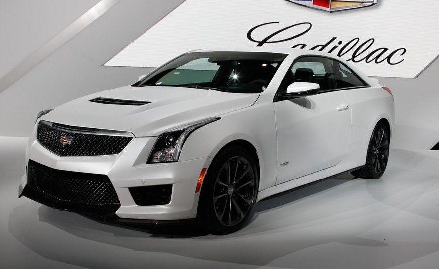 2016 #Cadillac ATS-V Coupe needs 3.8 seconds for 0-60 mpg. More info