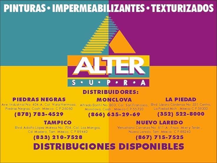 Distribuidores Alter Supra