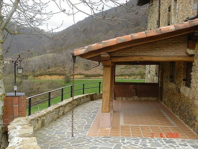 Fotos de terrazas de casas rusticas buscar con google - Casa campo y jardin ...