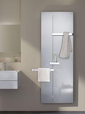 Kermi Fedon Design Und Badheizkorper In Modernem Badezimmer Duschkabine Badezimmer Bad
