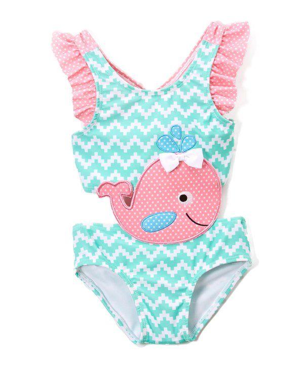 Sol Swim Girls Summer Days Rashguard Set
