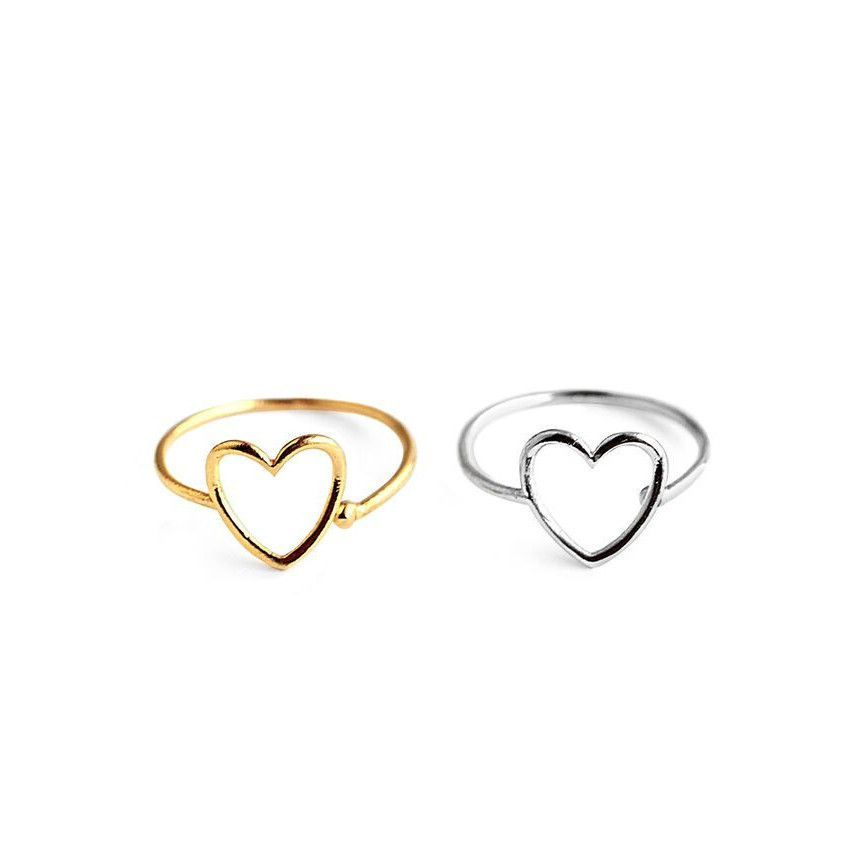 Heart Shape Stacking Ring