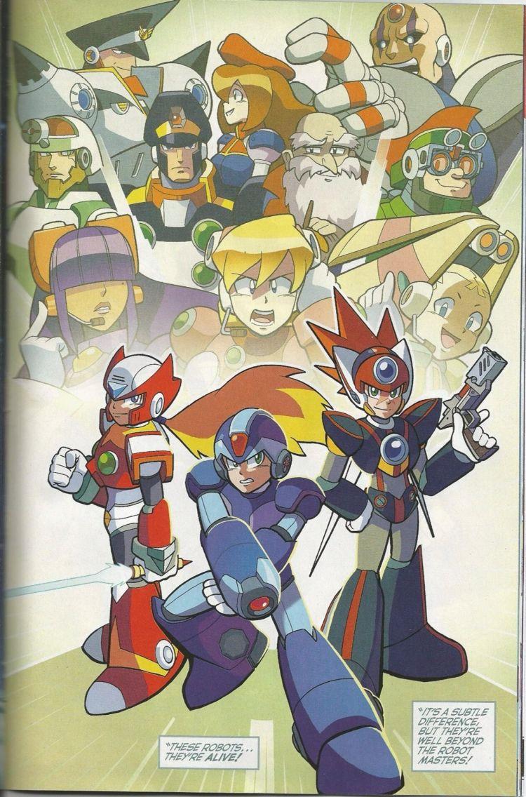 Rockman X4 Manga Read Online