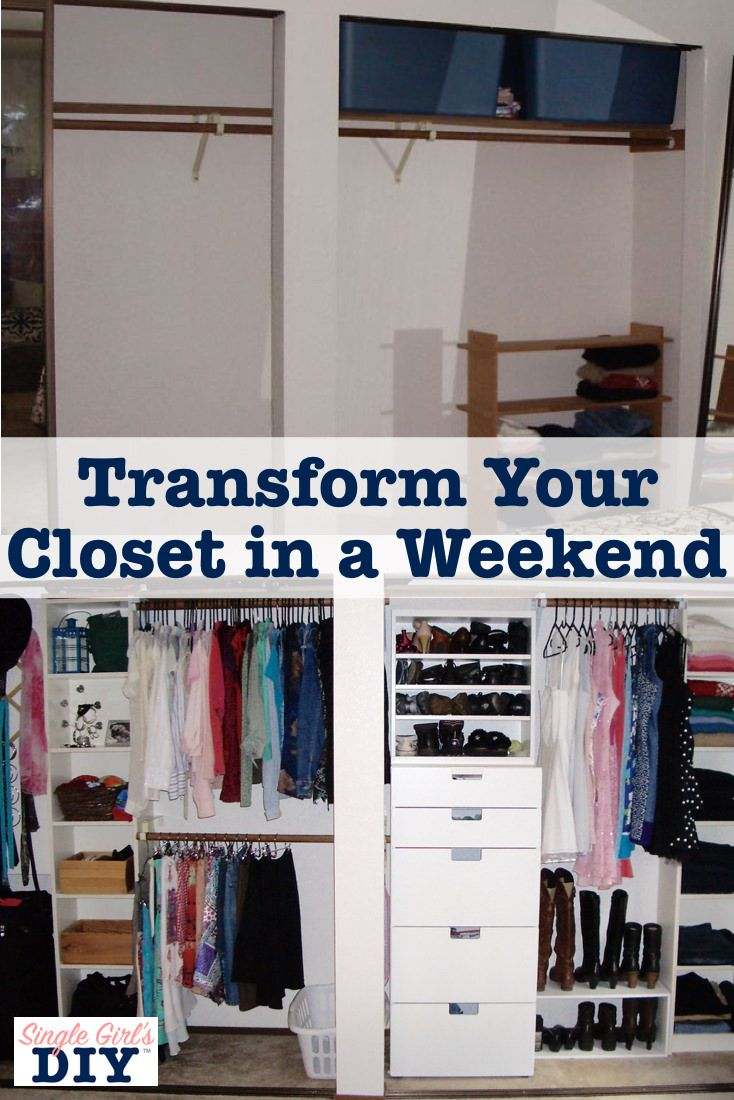 Beau Need A Cheap Way To Make More Room In Your Bedroom Closet? Check Out This