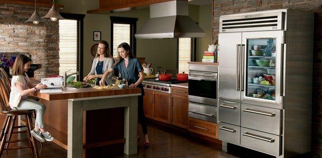 Sub Zero Refrigeration Sub Zero Wolf Appliances Kitchen Appliances Luxury Luxury Kitchen Outdoor Kitchen Design