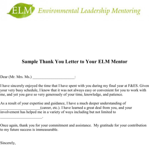 Thank You Letter Teacher For Excel Pdf And Word Mentor Free Sample