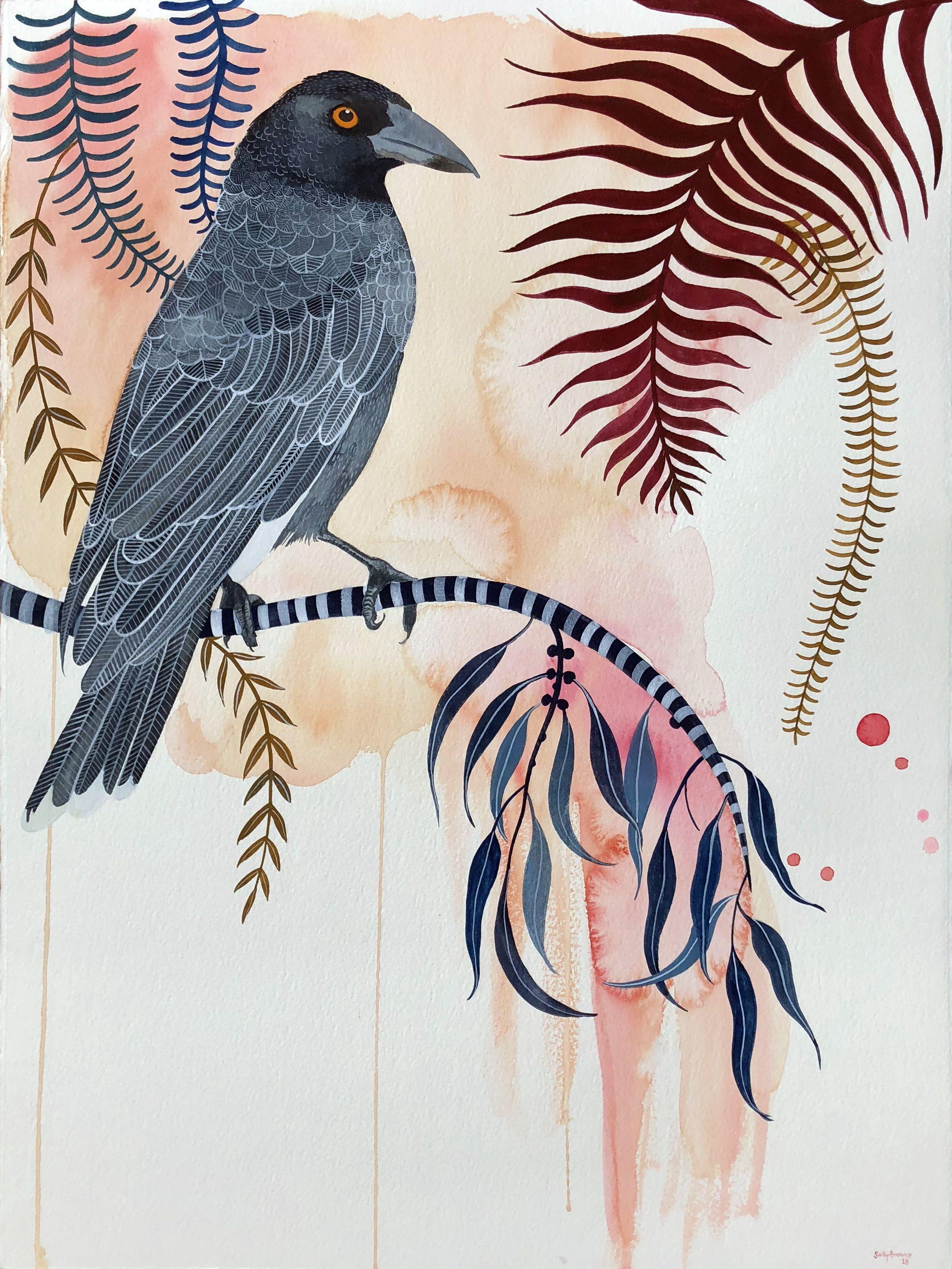 Currawong Song in 2020 Bird art, Bird prints, New art