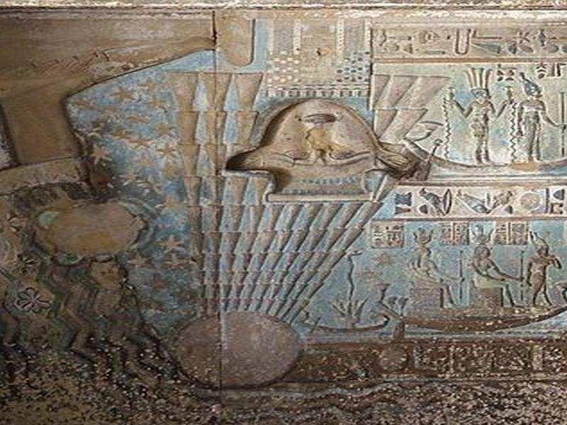 ovni en el antiguo Egipto.