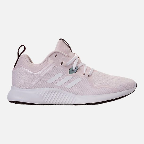 727bc8748 Right view of Women s adidas Edge Bounce Running Shoes in Orchid Tint White Night  Red