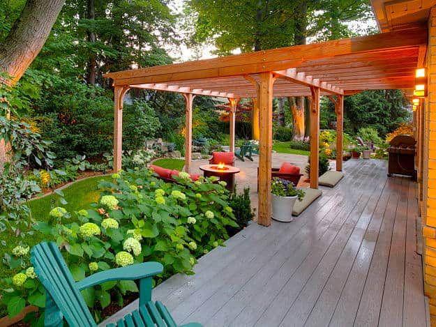 Traditional Meets Mediterranean Garden Design Inspiring Backyard