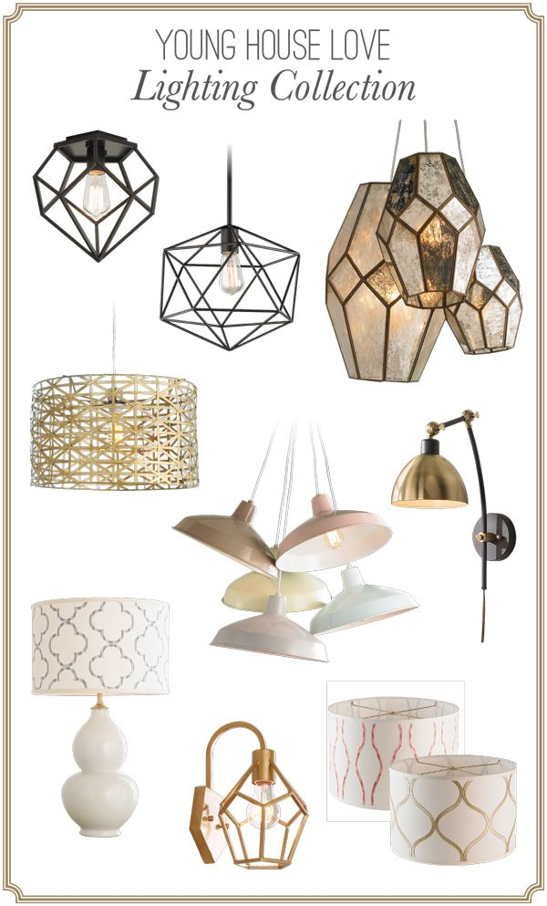 Young House Love Lighting Collection Exclusively At Shades Of Light Young House Love Lighting Collections Light