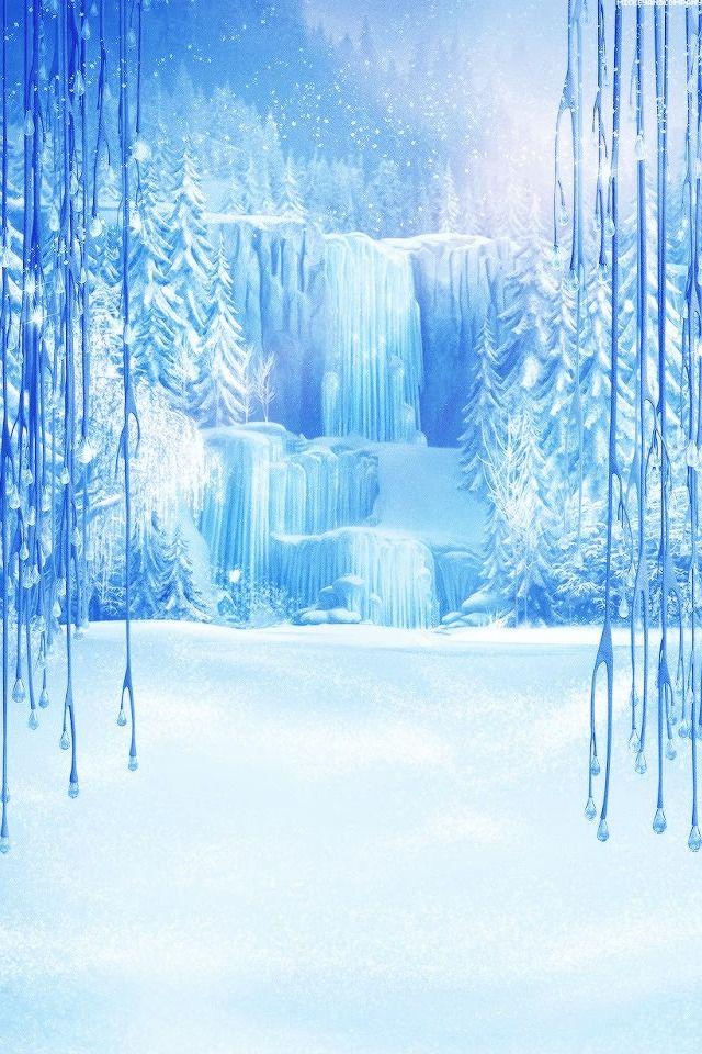 Frozen Aniversario Frozen Frozen Cenario Anime