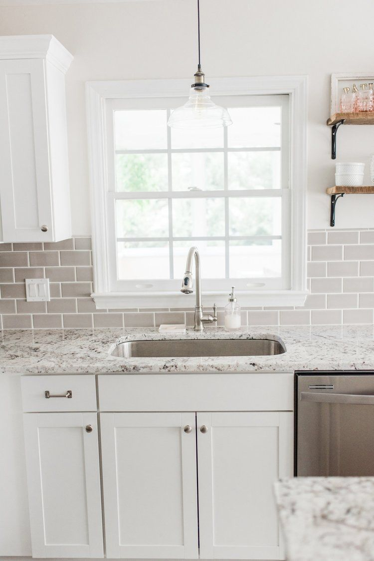 Lowe S Stock Cabinets Review In 2020 White Shaker Kitchen Kitchen Cabinet Design Shaker Kitchen Cabinets