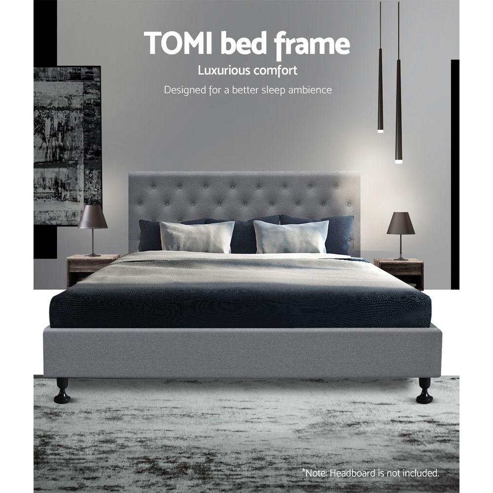 Chiswick Grey Bed Frame Online Only In 2020 With Images Bed
